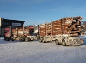 Langt mer effektiv tømmertransport på veg