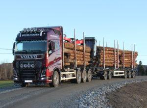Vil modernisere tømmertransporten